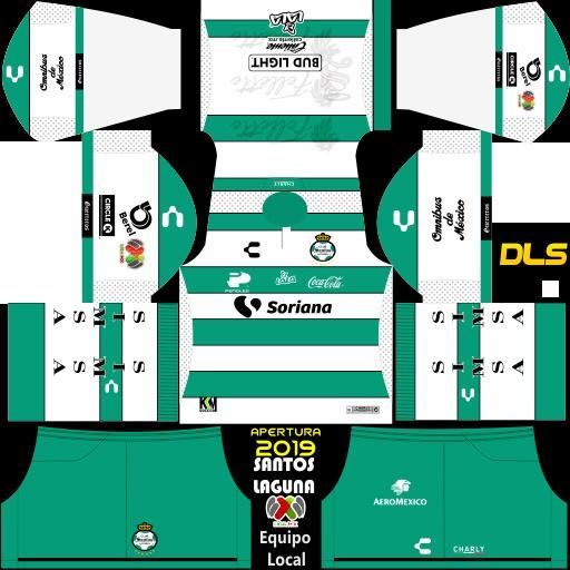 Club Santos Laguna Equipación local