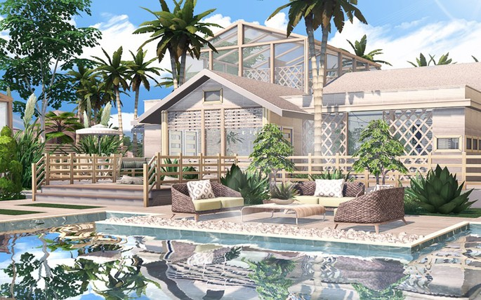 Coconut 3 Los Sims 4