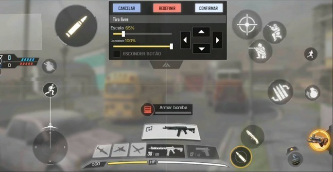 Personalizar controles en COD Mobile