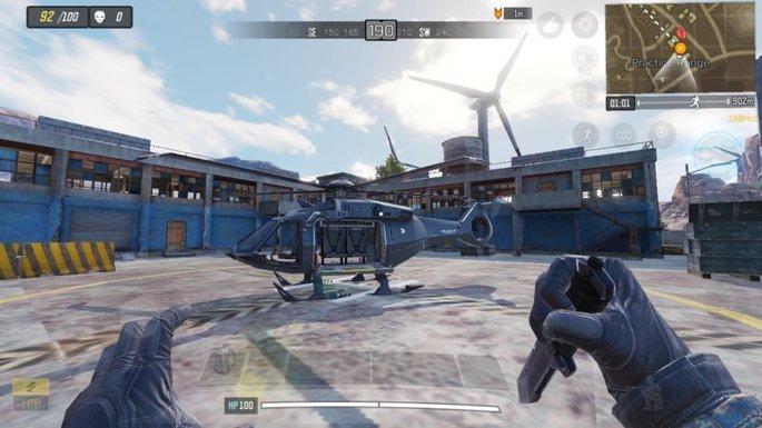 Call of Duty Mobile - Helicóptero - Campo de práctica 2
