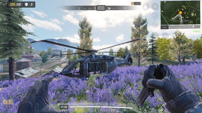 Call of Duty Mobile - Helicóptero - Finca