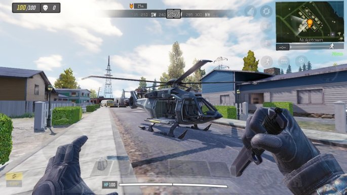 Call of Duty Mobile - Helicóptero - Nuketown