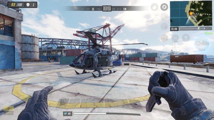 Call of Duty Mobile - Helicóptero - Puerto