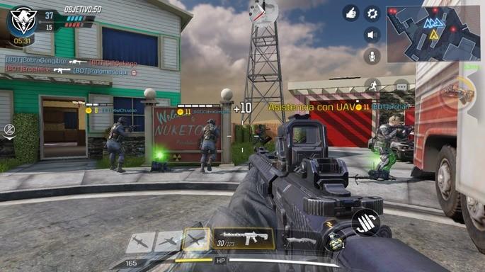 Primeras partidas en CoD Mobile