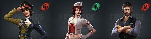 Combinación 1 Free Fire modo Dúo o Squad