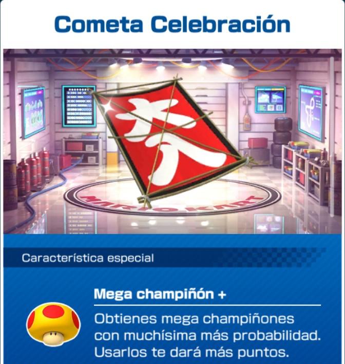 Cometa Celebración MKT