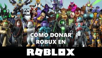 Cómo donar Robux en Roblox a tus amigos con estas 4 maneras