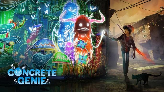 Concrete Genie - Juegos exclusivos de la PS4
