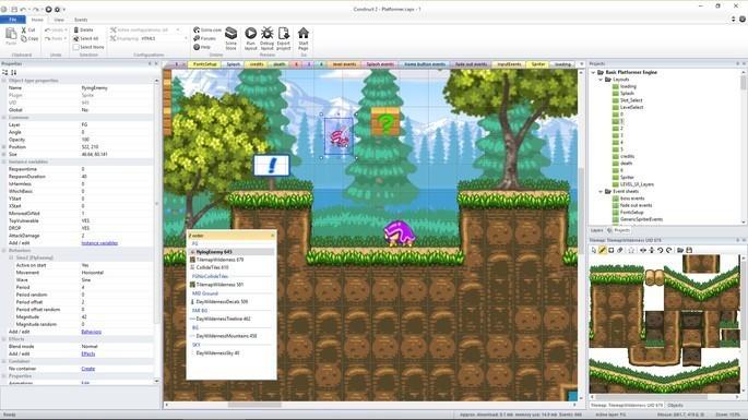 Programas para crear videojuegos - Construct 3