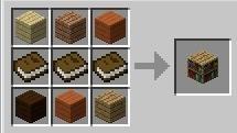 Construir librerías - Minecraft