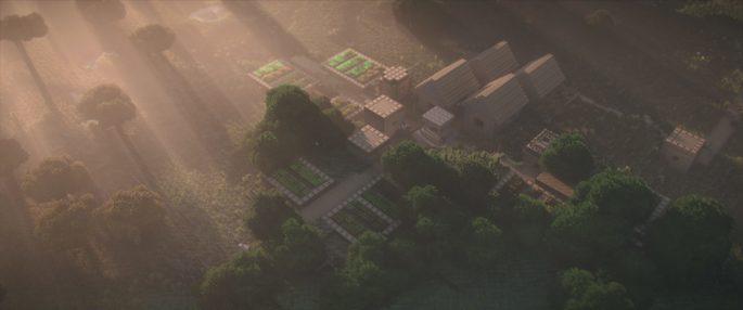 Continuum + Stratum - Shaders de Minecraft