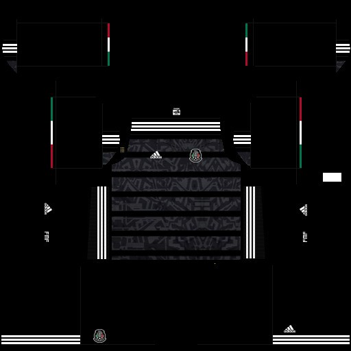 Copa de Oro 2019 Uniforme local México DLS