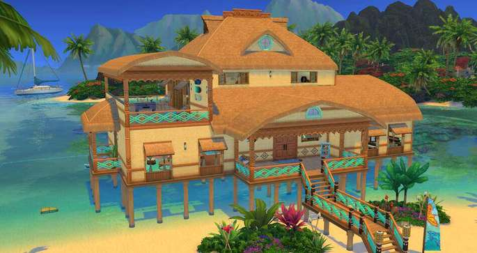 Costa Turquesa Los Sims 4