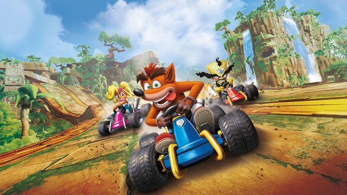 Crash Team Racing Nitro Fueled - Juegos multijugador PS4
