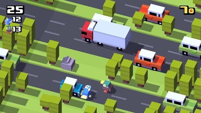 Crossy Road - Juegos para Android sin Internet