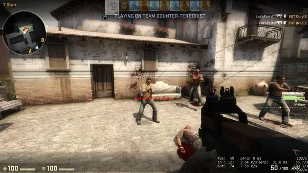 CS:GO comandos para entrenar con bots
