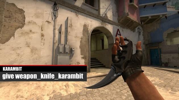 CS:GO cuchillo Karambit