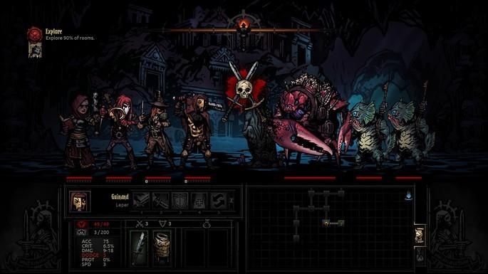 Darkest Dungeon - Juegos más difíciles