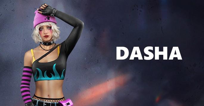 Dasha - Mujeres de Free Fire