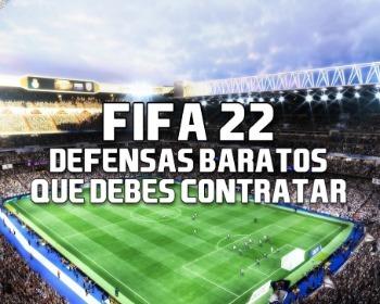 Los defensas baratos de FIFA 22 que debes contratar para el modo Carrera