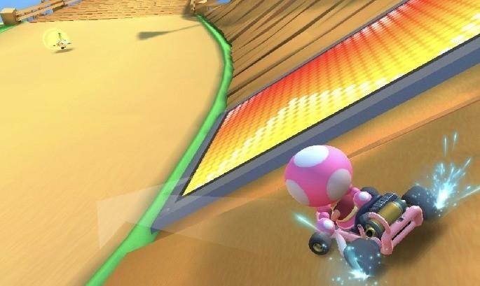 Derrapes en Mario Kart Tour