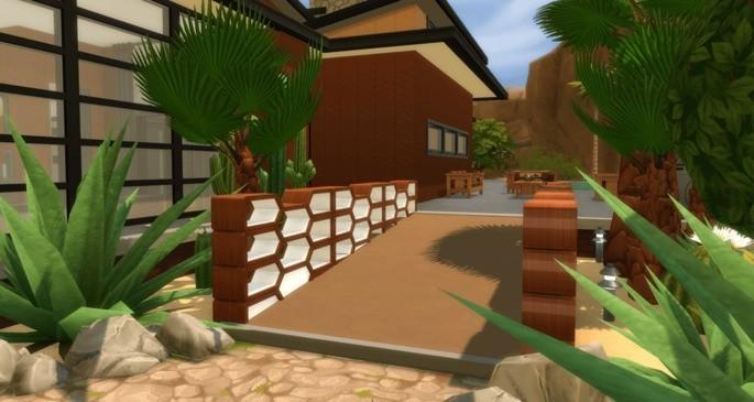 Desafío casa para personas con dificultad de movilidad - Retos de construcción Sims 4