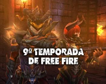 Conoce los detalles de la 9ª temporada de Free Fire
