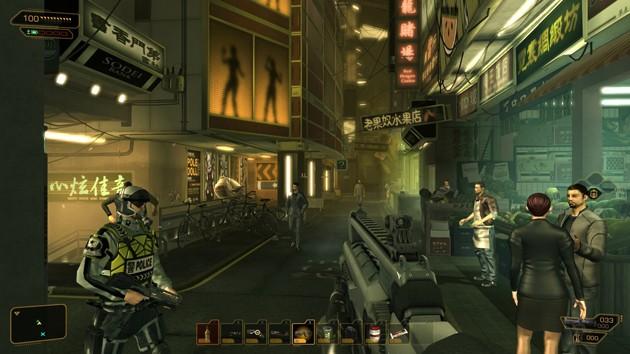 Juegos de tiros para PC con pocos requisitos: Deus Ex Human Revolution