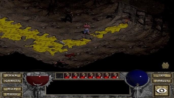 Diablo - Juegos antiguos PC