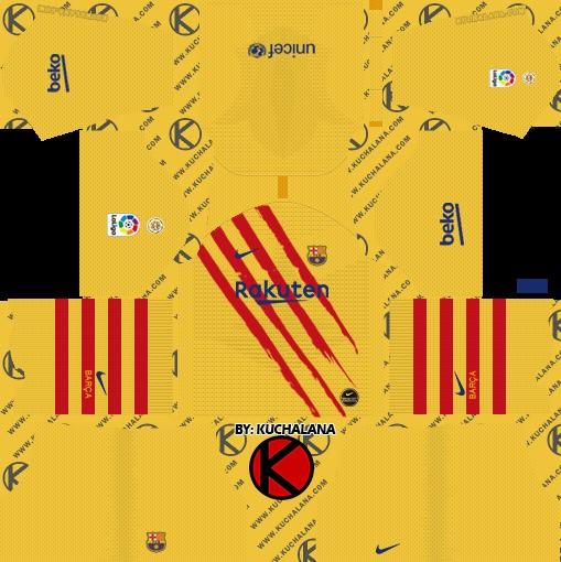 DLS Barcelona cuarto uniforme