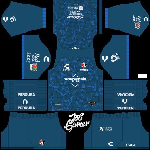 DLS19 Atlas FC Uniforme local del portero