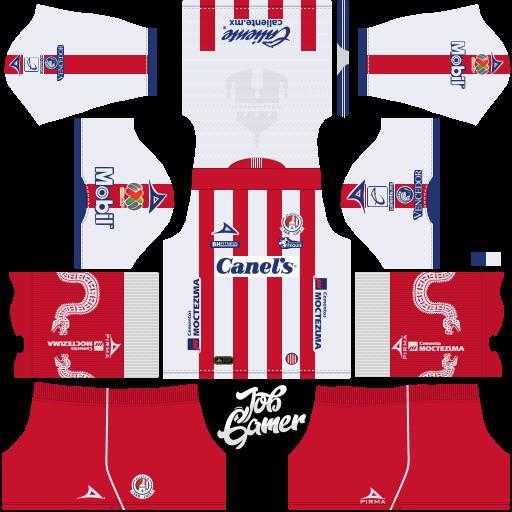 DLS19 Atlético San Luis Uniforme local