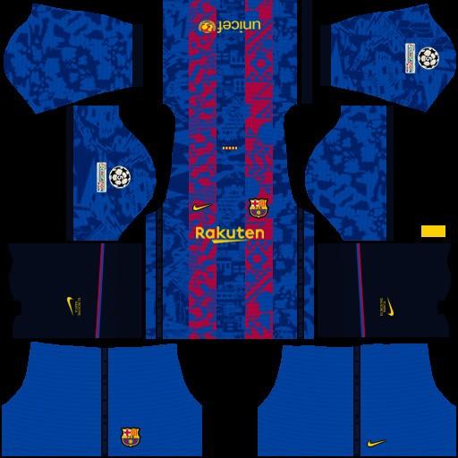 DLS19 Barcelona Tercer uniforme