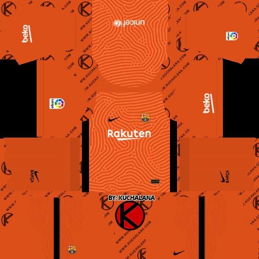 DLS19 Barcelona Tercer uniforme del portero
