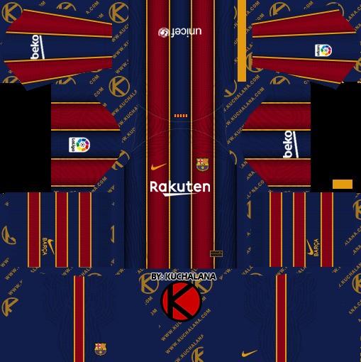 DLS19 Barcelona Uniforme titular