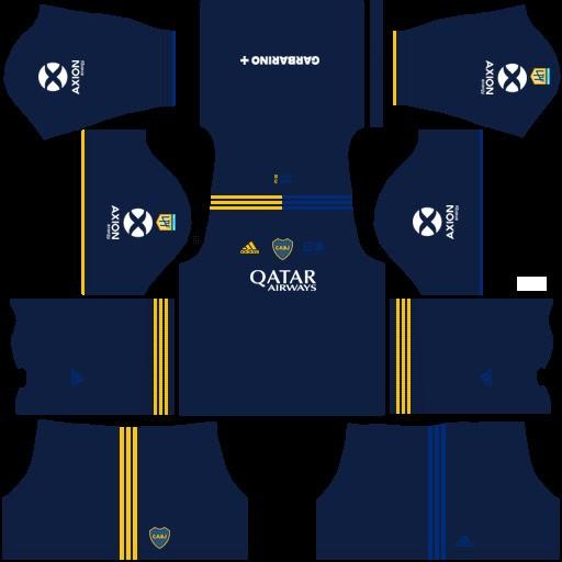 DLS19 Boca Juniors Cuarto uniforme
