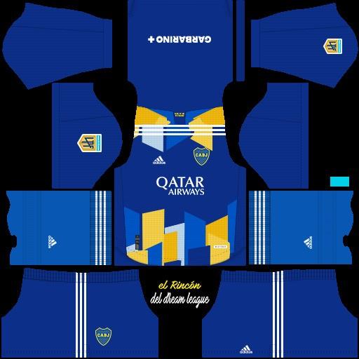 DLS19 Boca Juniors Tercer uniforme