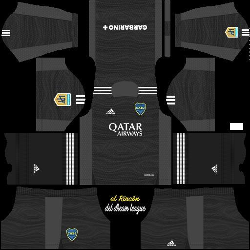 DLS19 Boca Juniors Tercer uniforme del portero
