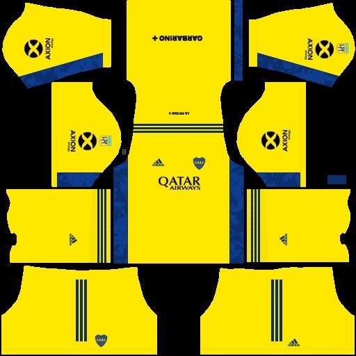 DLS19 Boca Juniors Uniforme visitante del portero