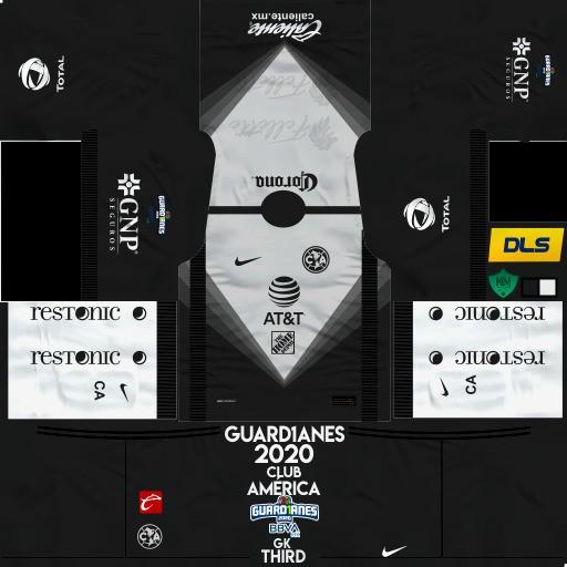 DLS19 Club América Uniforme local del portero