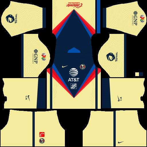 DLS19 Club América Uniforme local