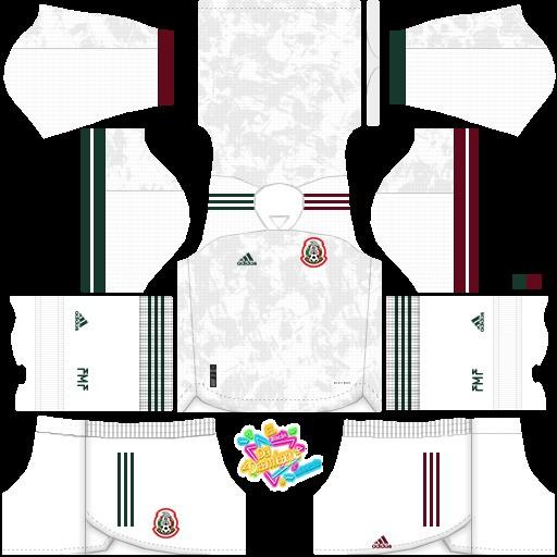 DLS19 Copa Oro 2021 México Uniforme visitante