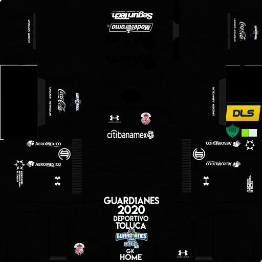 DLS19 Deportivo Toluca Uniforme Local del portero