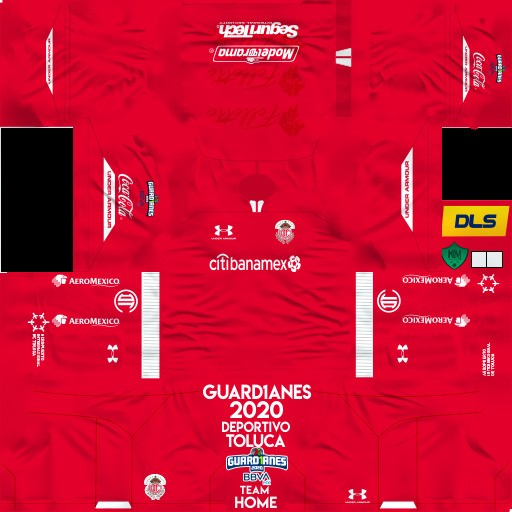 DLS19 Deportivo Toluca Uniforme Local