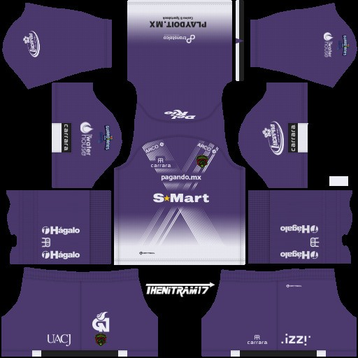 DLS19 FC Juárez Uniforme Local del portero