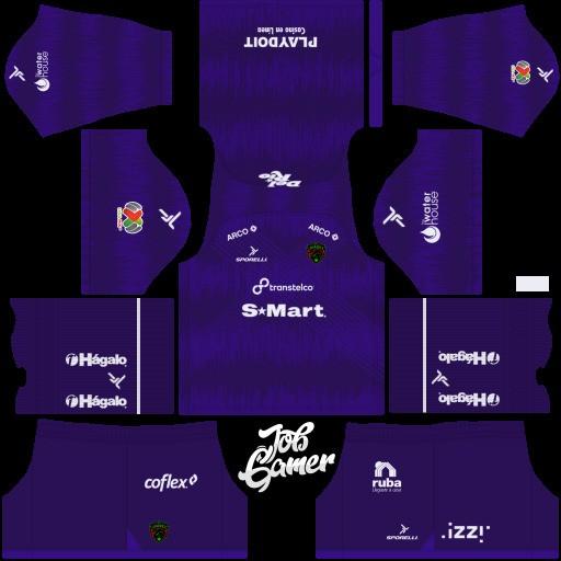 DLS19 FC Juárez Uniforme visitante del portero