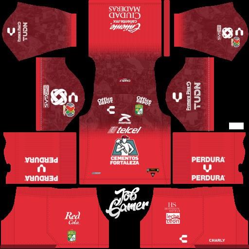 DLS19 León FC Uniforme visitante del portero