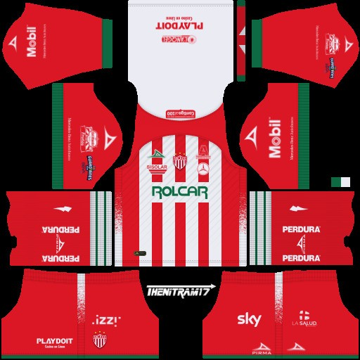 DLS19 Necaxa Uniforme Local