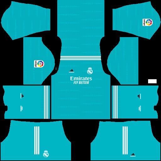 DLS19 Real Madrid Tercer uniforme