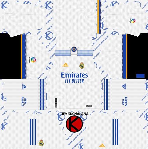 DLS19 Real Madrid Uniforme titular